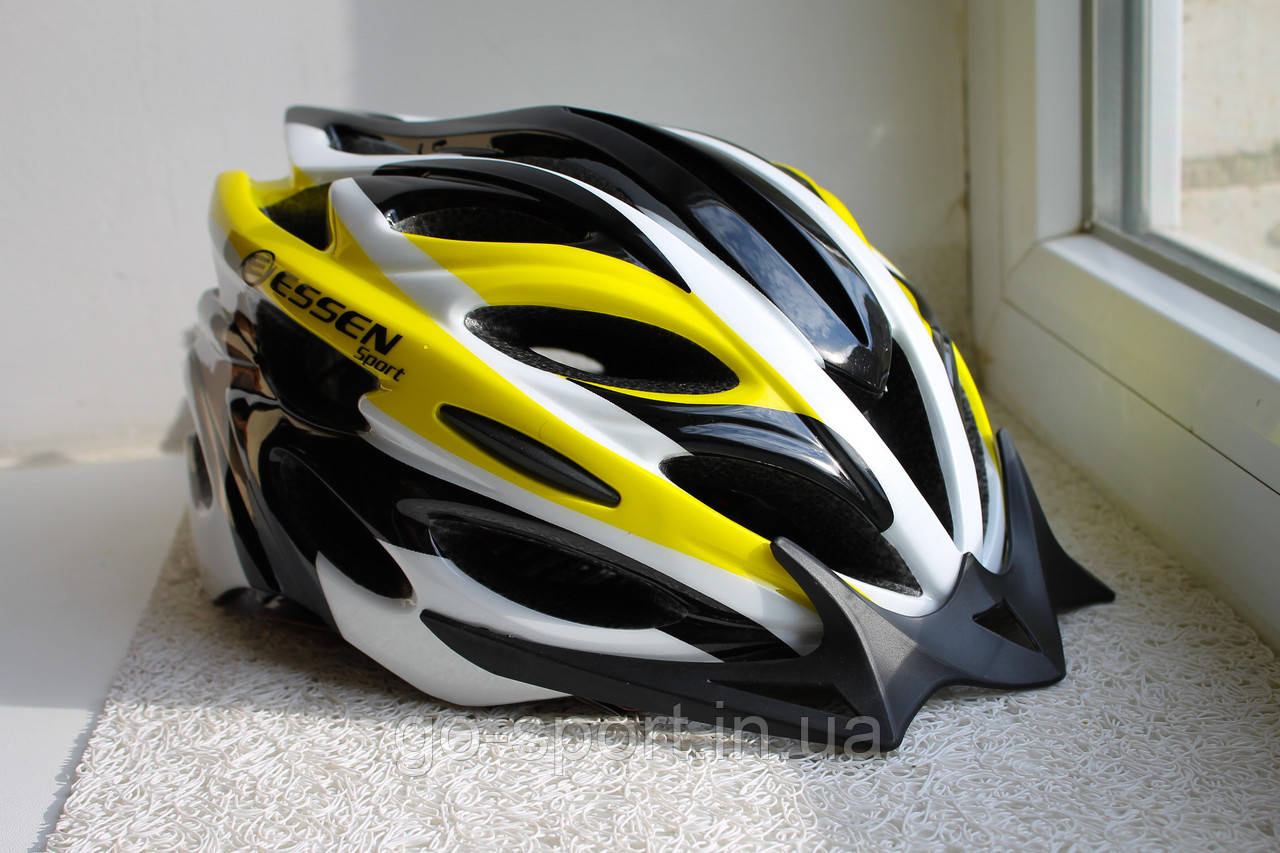 Велосипедный шлем Essen Черно-желтый