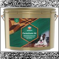 Лак полуматовый для деревянных и бетонных полов Эскаро Паркет Лак 30 алкидно-уретановый ведро 10 литров