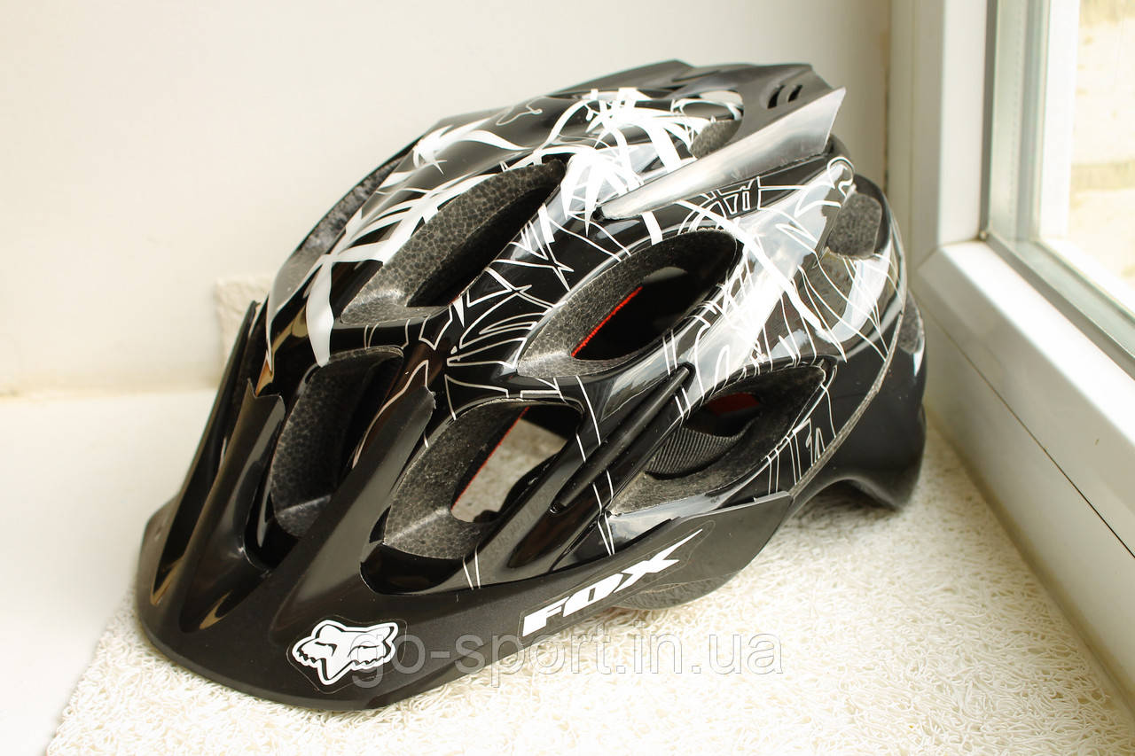 Велосипедный шлем FOX Черный