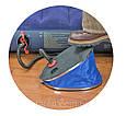 Насос ножний жабка зручний для матраців, ліжок, ігрових центрів кіл Intex 68610 діам 32 см, фото 2