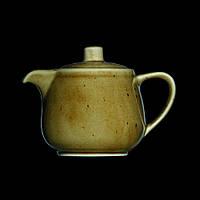 Чайник заварочный фарфоровый без крышки 460 мл. коричневый Country Range, G.Benedikt