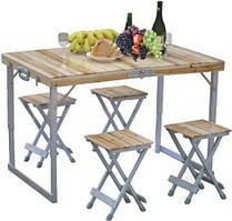 Раскладные столы и наборы мебели для пикника