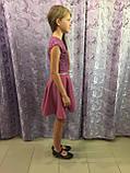 Детское платье с коротким рукавом 122,134,140 см, фото 3