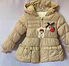 Детская куртка демисезонная для девочки оптом 1-3 лет