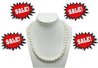 Бусы жемчужные, ожерелье 40 см, фото 1