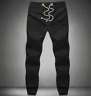 Мужские брюки на лето- черный