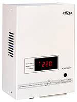 Релейный стабилизатор напряжения с номинальной мощностью нагрузки до 300Вт и возможностью навесного монтажа