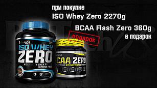 Biotech USA Iso Whey Zero 2,27 + BCAA Flash Zero в подарок