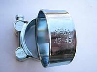 Хомут 42-46 W1 силовой HYDRO TECH стальной оцинкованный