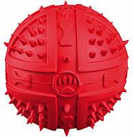 Мяч Trixie Toy Ball для собак резиновый, с пищалкой, 9 см, фото 1