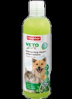 Beaphar Био Шампунь с натуральными маслами и противопаразитарным действием для собак и кошек 250мл (15711)