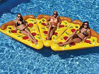 """Надувной плот-матрас гигант """"Пицца"""", большой размер . Розница, опт."""