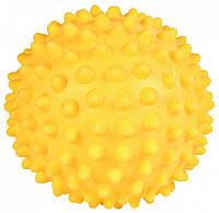 Мяч Trixie Hedgehog Ball для собак с шипами, виниловый, 16 см, фото 1