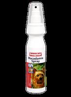 Beaphar Macadamia Спрей с маслом ореха Макадамия для хорошей и блестящей шерсти собак и котов 150мл (12558)