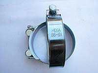 Хомут 86-91 W1 силовой HYDRO TECH стальной оцинкованный