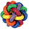 М'яч-клубок Trixie Knotted Ball для собак гумовий, 10 см