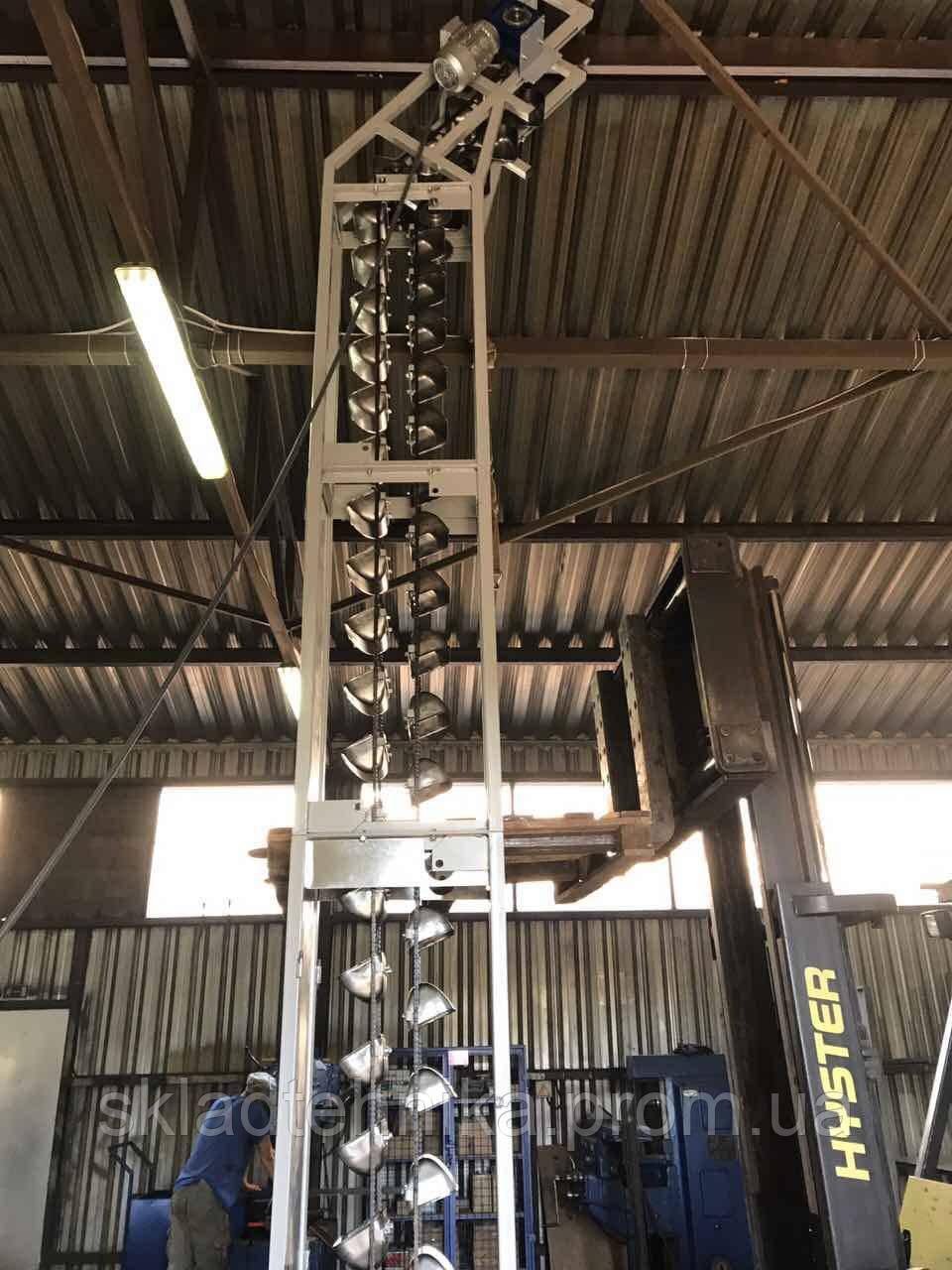 Транспортер цепные вертикальные опоры барабанов конвейеров