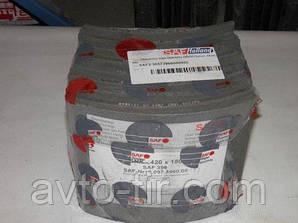 Накладка тормозная BPW 420х180