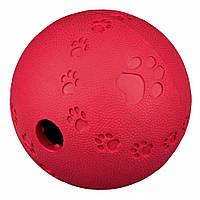 Мяч-кормушка Trixie Snack Ball для собак резиновый, 9 см, фото 1