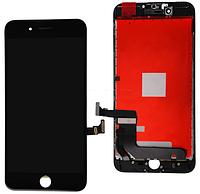 Дисплей (экран) для Apple iPhone 7 + с сенсором (тачскрином) черный