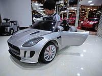 Детский электромобиль  JAGUAR DMD 218 серебро