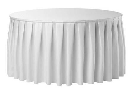 Банкетные юбки на стол Стандартной высоты, фото 2