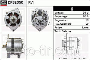 Генератор 24V, 80A, Renault Midlum, Premium, Magnum, Kerax, Рено Мидлум, 5010306801