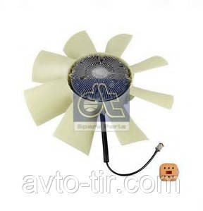 Вентилятор охлаждения двигателя в сборе RENAULT Premium, Рено Премиум, 5010315817