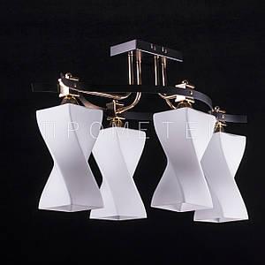 Люстра на 4 лампочки (золото) P3-36282/4/FG+MK
