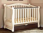 Детская кроватка Prestige 8 с пеленальным комодом Luxuri Baby Dream, фото 4