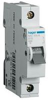 Автоматический выключатель HAGER MC116A 1p 16A, х-ка С, 6кА