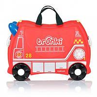Детский дорожный чемоданчик Trunki Freddie Fire Engine