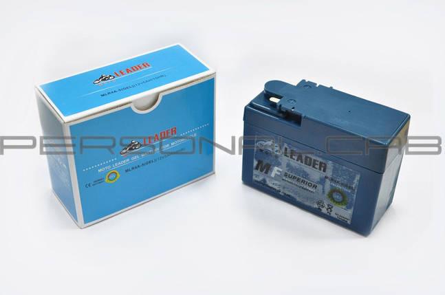 "Аккумулятор 12V 2,3А гелевый, Honda (""таблетка"", черный), фото 2"