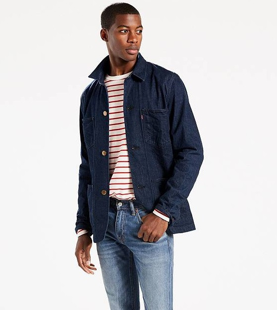Куртка Levis Selvedge Utility Coat - Carl Selvedge (M)