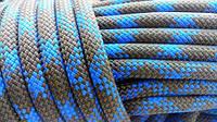 [45м] Верёвка статическая высокопрочная 11мм синяя Tendon Static 48