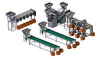 Оборудование для переработки ореха