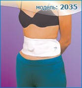 Бандаж поддерживающий пупочный модель 2035