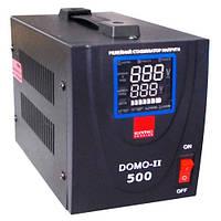 Стабілізатор напруги 500ВА 0,5 кВт DOMO однофазний Eltis