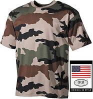 Армейская футболка х/б 170г/м2 американского (США) типа, CCE MFH 00103I