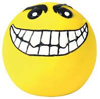 Игрушки Trixie Balls Smileys для собак латексные, смайлики, 4 шт, фото 1