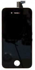 Дисплей с тачскрином Apple iPhone 4S черный (HQ)
