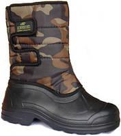 Ботинки мужские на липучках с окантовкой Кредо «Термос» р.45-46