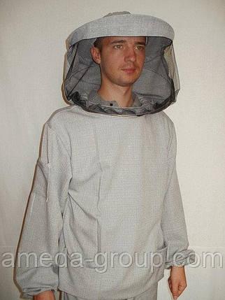 Куртка пчеловода лен-габардин, фото 2