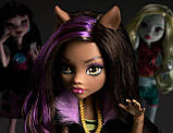 Кукла Monster High Клодин Вульф базовая перезапуск - Clawdeen Wolf, фото 4