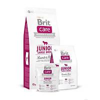 Корм для щенков крупных пород Brit Care Junior Large Breed Lamb & Rice с ягненком и рисом