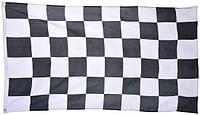 Гоночный клетчатый флаг 90х150см финиш
