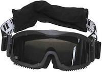"""Защитные очки с 2 сменными стёклами MFH """"Thunder deluxe"""" 25853A"""