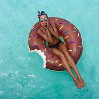 ХИТ! Надувной круг Пончик, диаметр - 100 см. Есть разные цвета