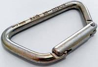 Карабин Ирбис-С сталь KeyLock без муфты 2500кг Крок 05511