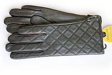 Женские кожаные перчатки ВЯЗКА  W13-160021s1, фото 3